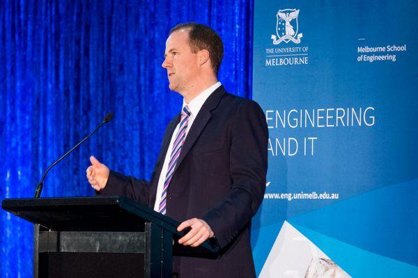 Dean, Melbourne School of Engineering, Prof Mark Cassidy