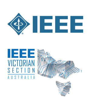 Logos of IEEE and IEEE Victoria