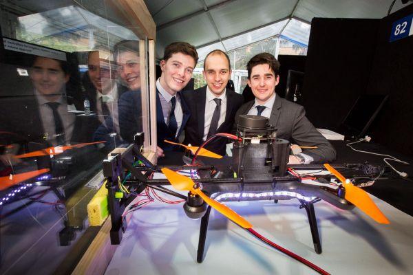Project: Window Washing Drone. Team: Edward James, Matthew Knight, Matthew Walker