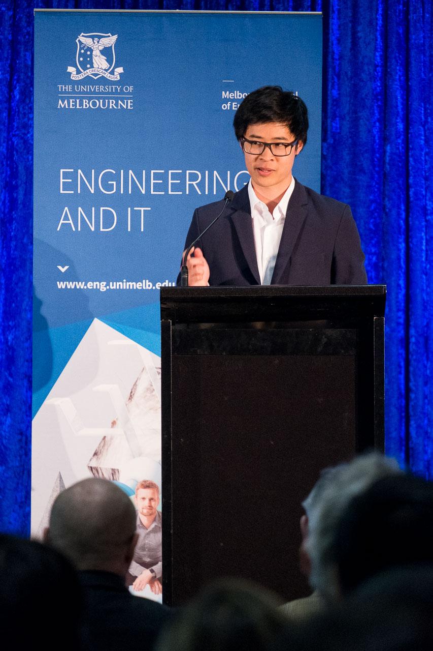 Alumni speaker, Shing Yue Sheung