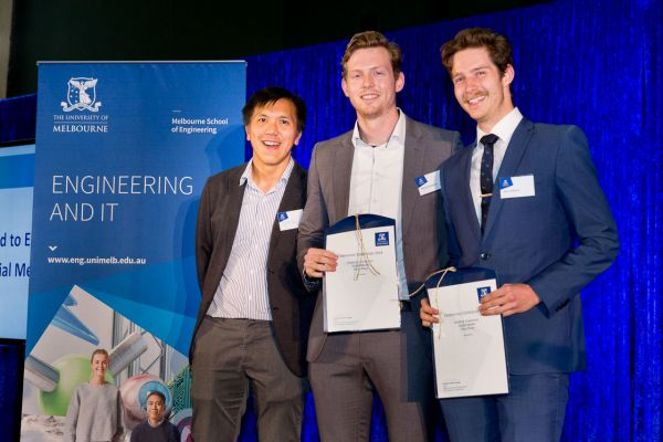 Road to Endeavour presented by Prof Andrew Ooi. Project: Improving the functionality of 3d printed prosthetic hands. Team: Matt Collinson, Michael Naughtin